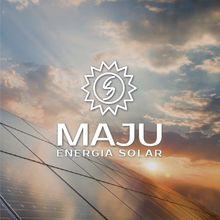 Logo MAJU - ENERGIA SOLAR