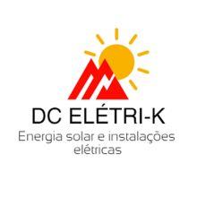 Logo DC ELETRI-K ENERGIA SOLAR E INSTALACOES ELETRICAS
