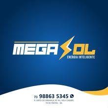 Logo MEGA SOL ENERGIA SOLAR