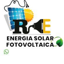 Logo RE - Energia Solar Fotovoltaica