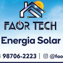 Logo FAORTECH - AUTOMACAO E ENERGIA SOLAR