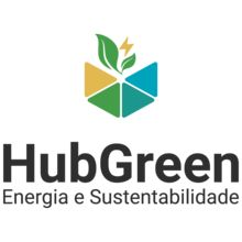 Logo HUBGREEN ENERGIA E SUSTENTABILIDADE LTDA